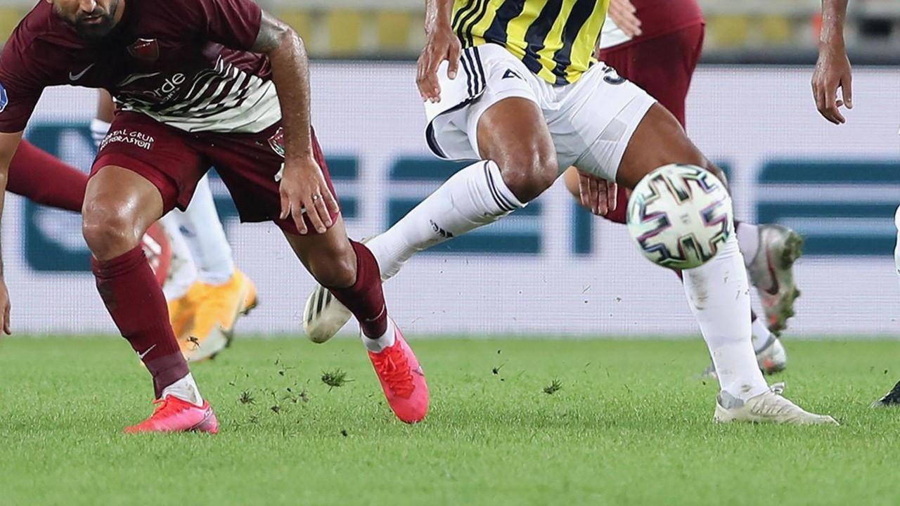 Hatayspor - Fenerbahçe maçı iptal edildi