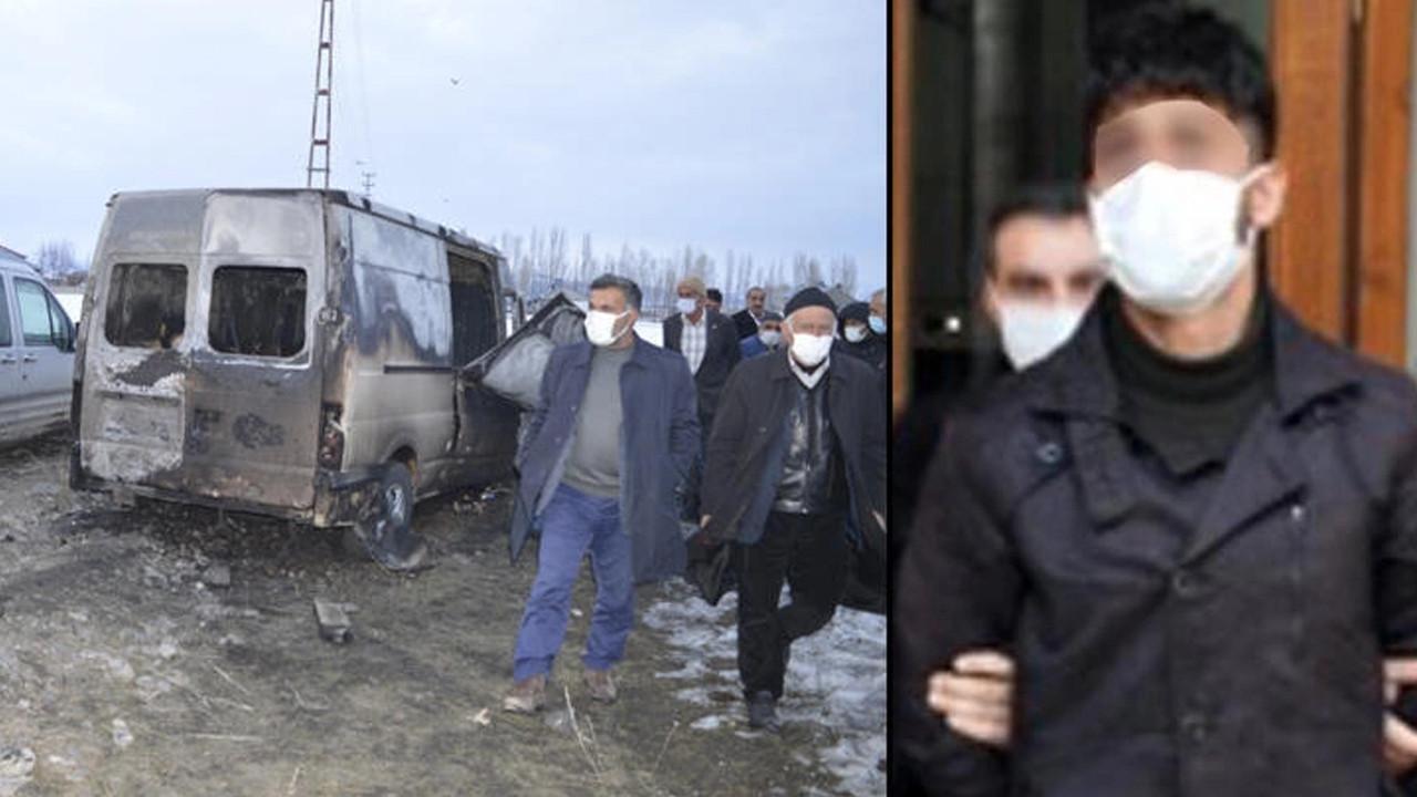 Kamyon kundaklayan HDP'li yönetici tutuklandı