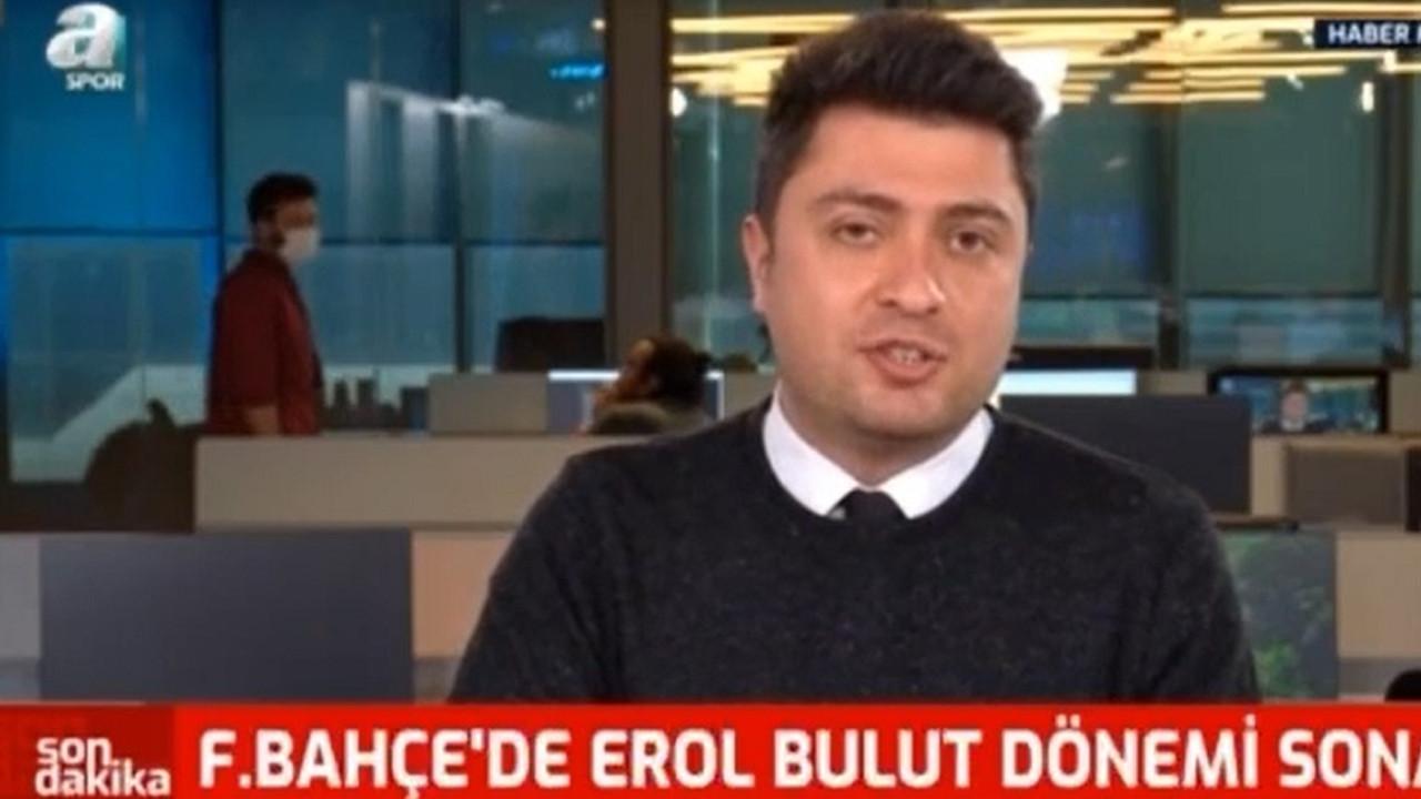 A Spor Fenerbahçe muhabirinin canlı yayında zor anları
