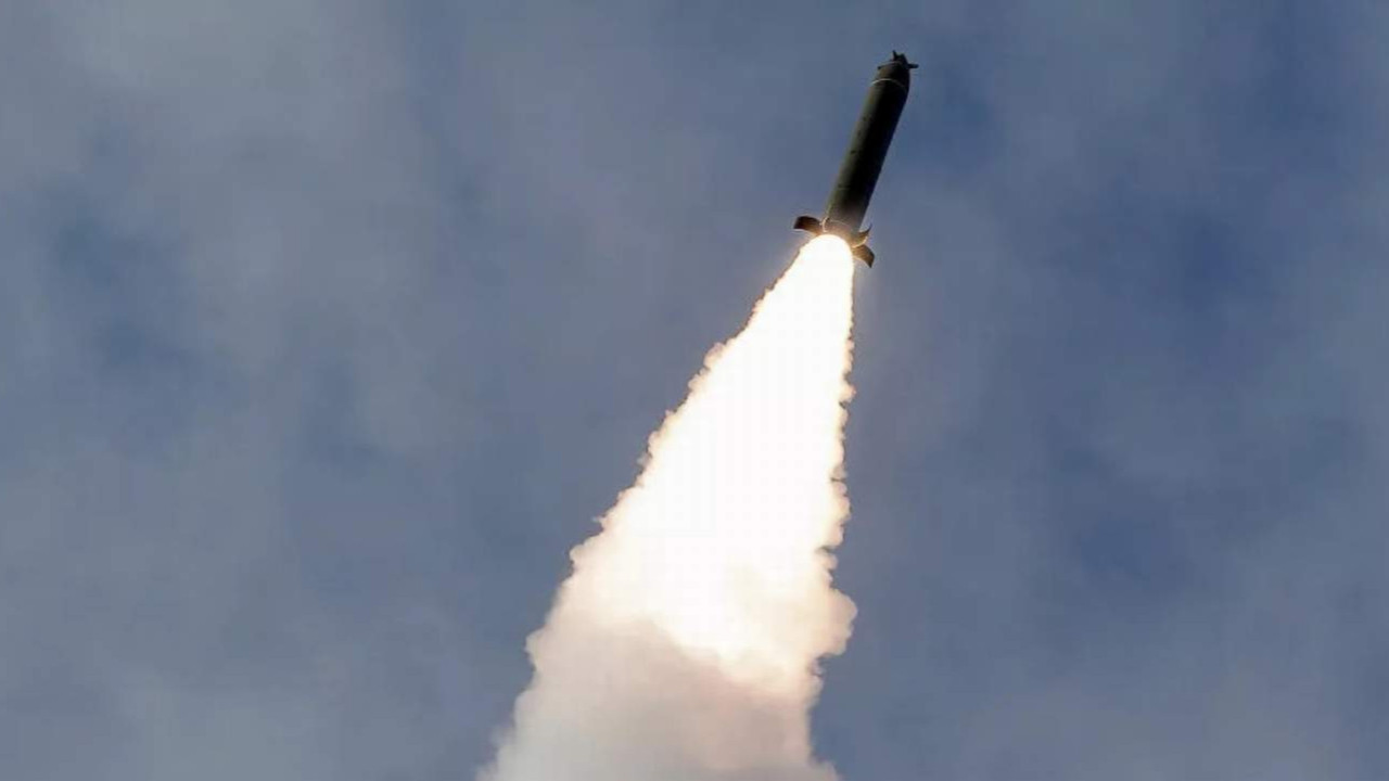 Kuzey Kora balistik füze mi fırlattı ?