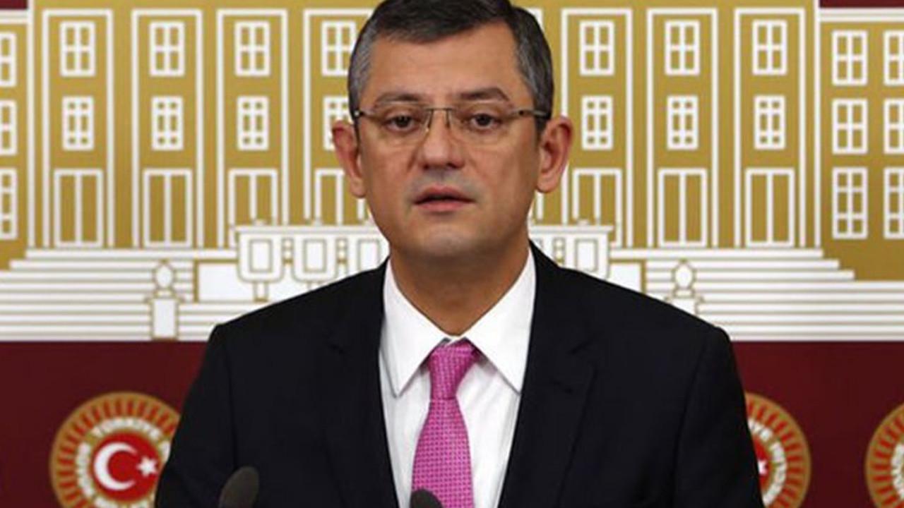 Özgür Özel'den ''yeni anayasa'' açıklaması