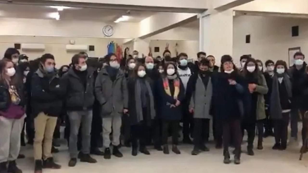Boğaziçililer şimdi de kampus nöbetine başladı