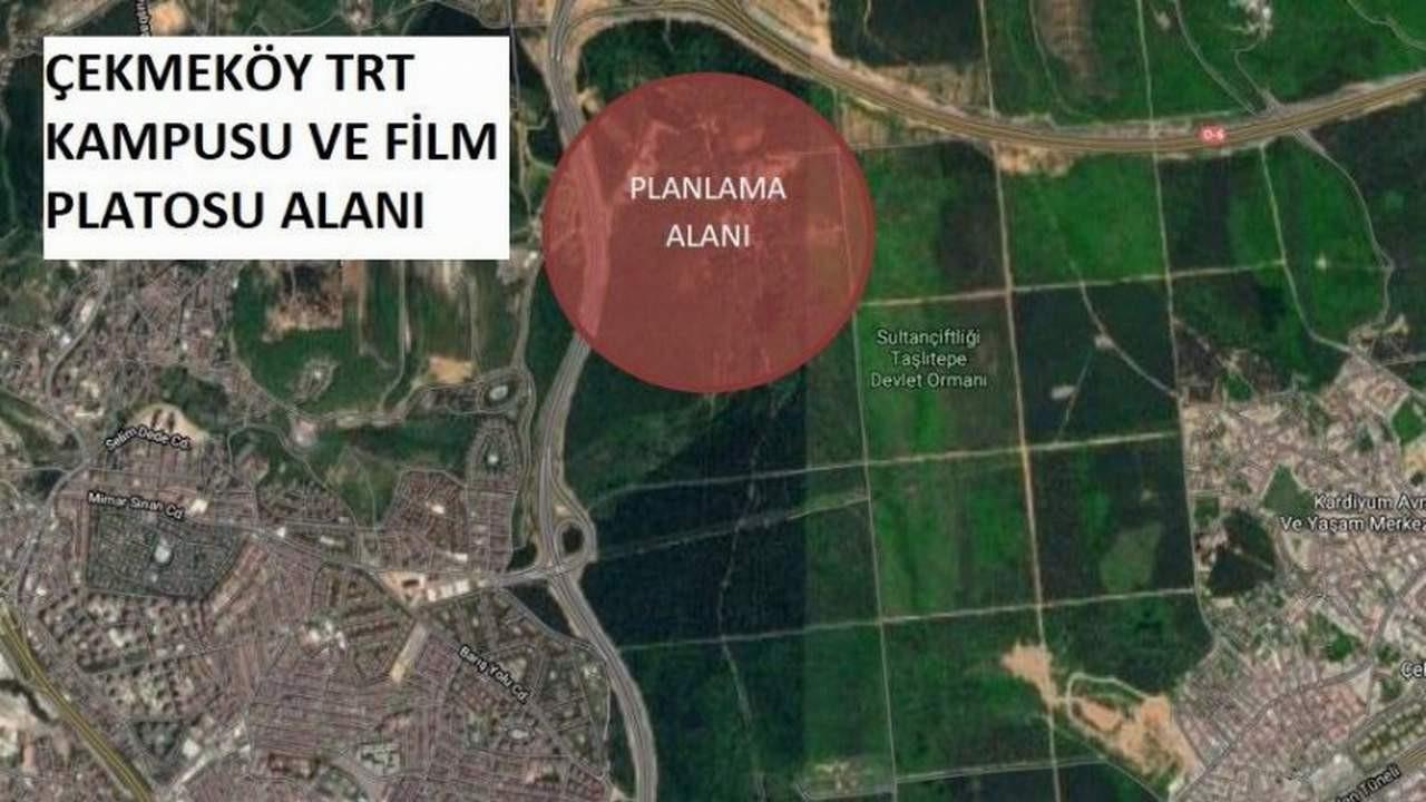 İstanbul'un bir ormanlık alanı daha imara açıldı