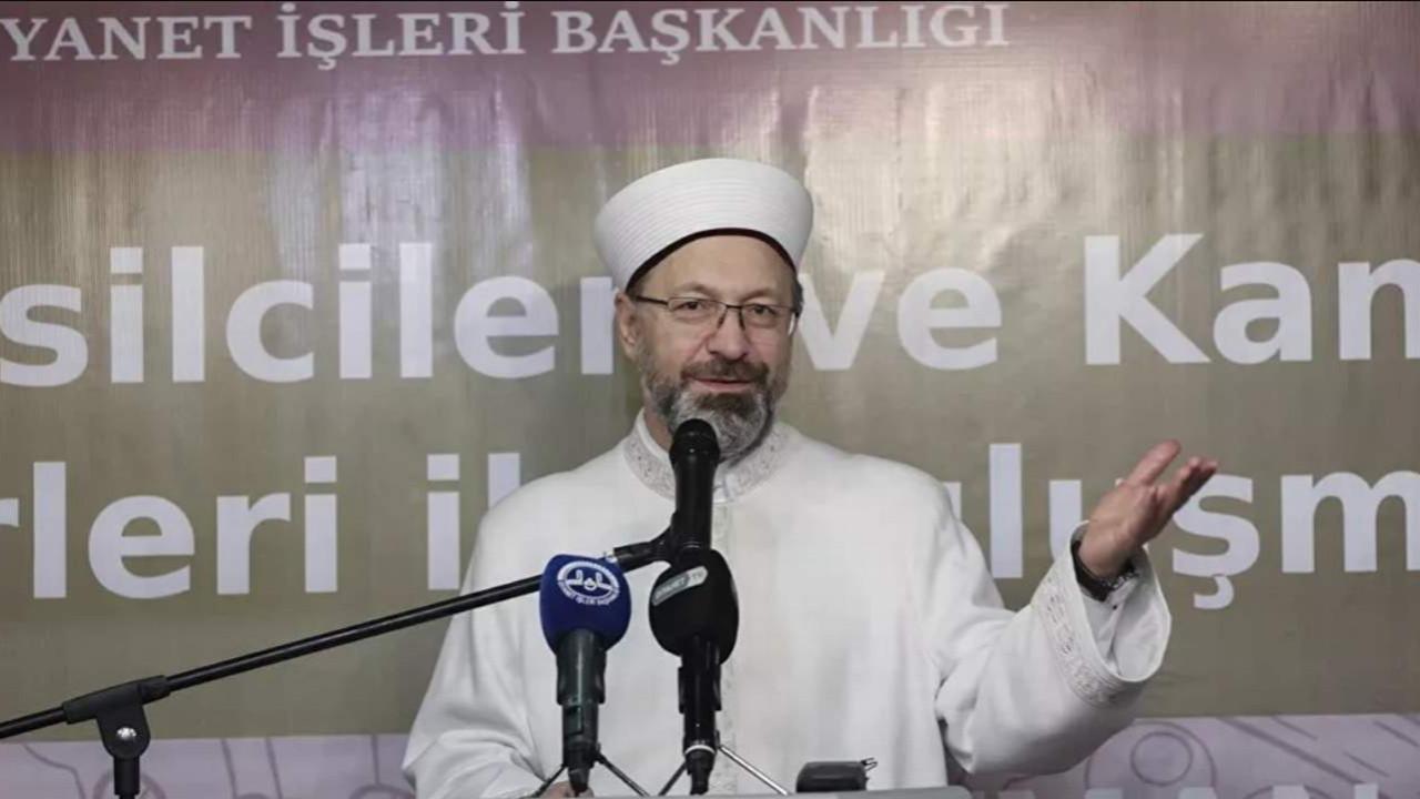 Diyanet İşleri Başkanı Erbaş:  ''Ailemize sahip çıkalım''