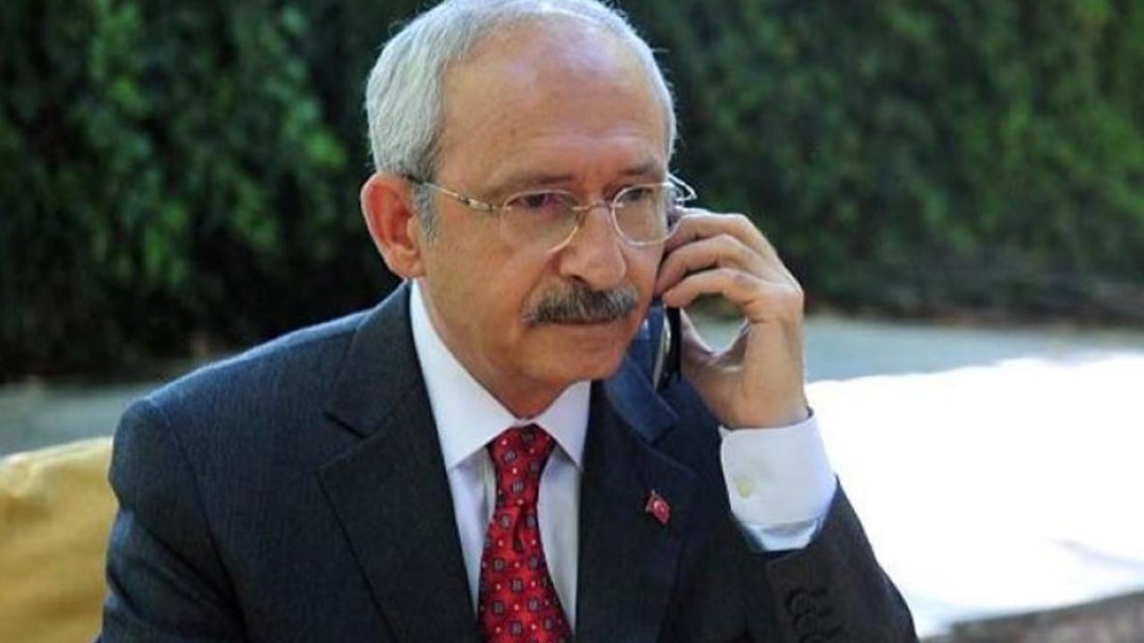 Kılıçdaroğlu'ndan Sezen Ünlü'nün ailesine başsağlığı telefonu