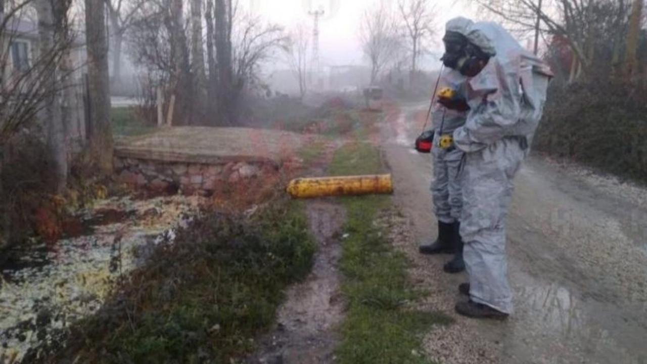 Sakarya'da kimyasal gaz paniği: 12 kişi zehirlendi
