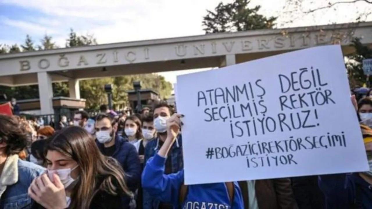 Boğaziçi'nde 97 öğrenciye hapis