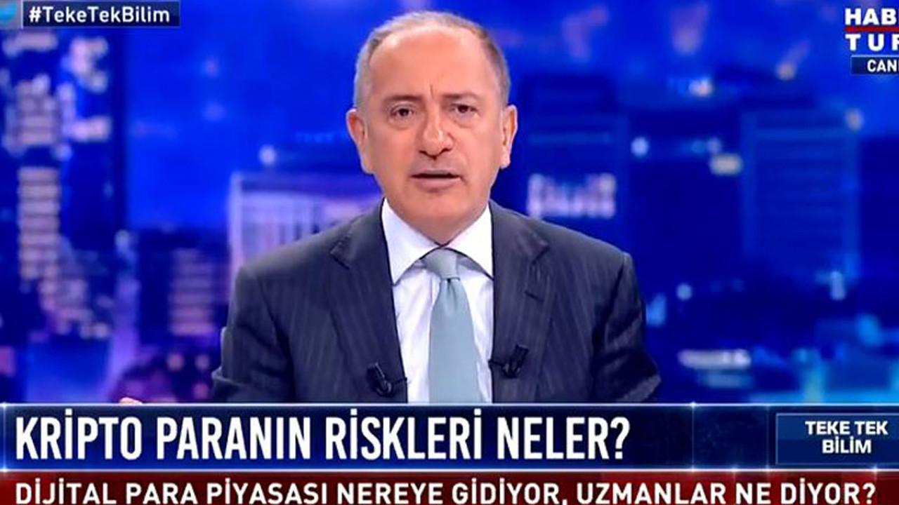 Fatih Altaylı'dan AK Parti'ye olay gönderme