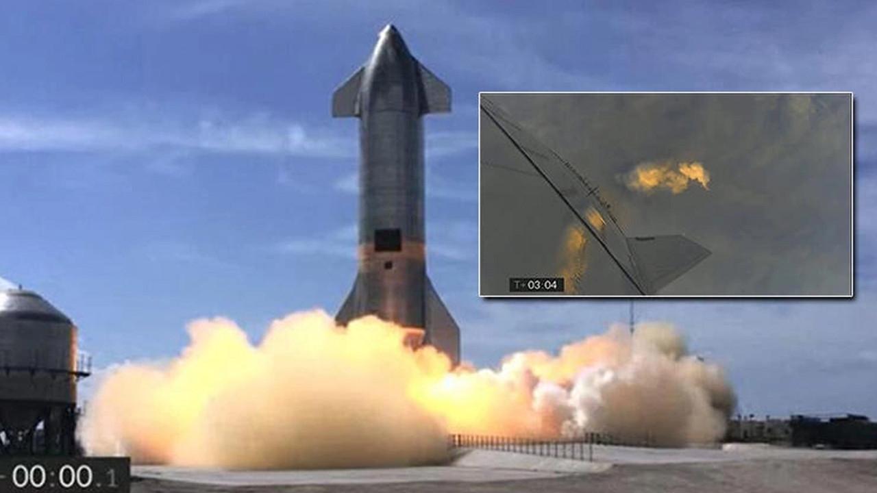 SpaceX'in uçuş testi yine başarısız oldu