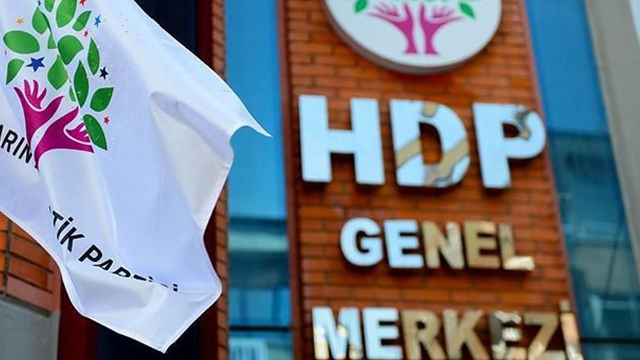 HDP'ye kapatma davasında yeni gelişme