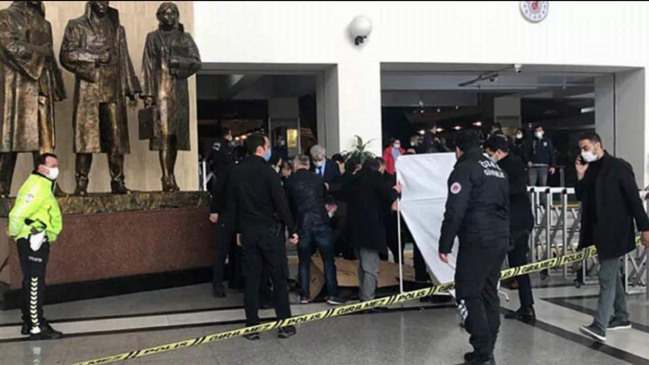 Bakırköy Adalet Sarayı'nda intihar girişimi