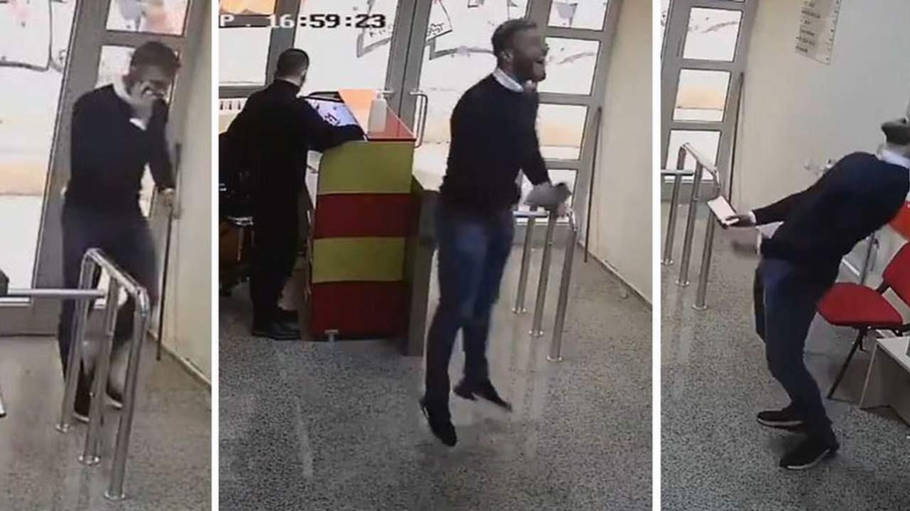 Alpaslan Öztürk'ün A Milli Takım'a seçildiği sevinç anları olay oldu