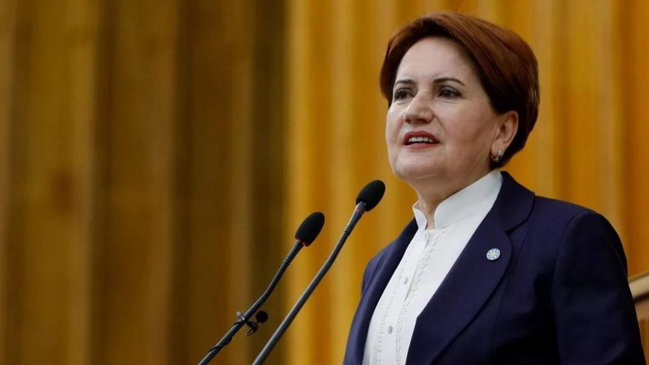 Akşener partisinin oy oranını açıkladı
