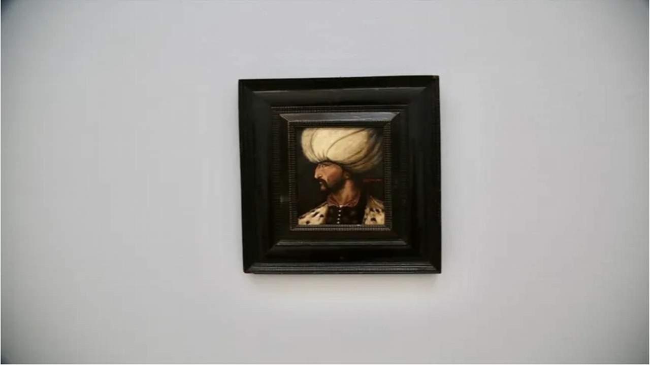 Kanuni Sultan Süleyman'ın portresine 5 milyon TL