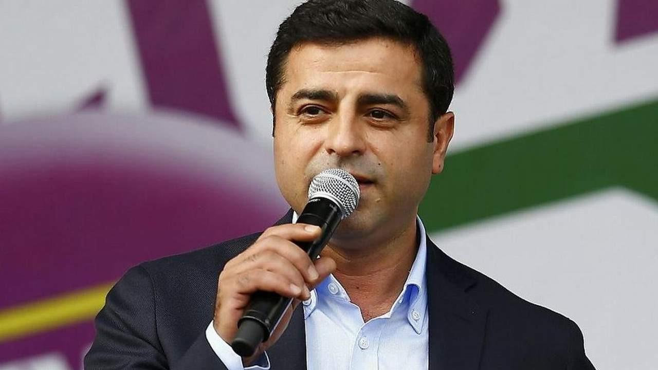 Demirtaş: ''PKK ve Öcalan ile görüşen biz değiliz, Erdoğan!''