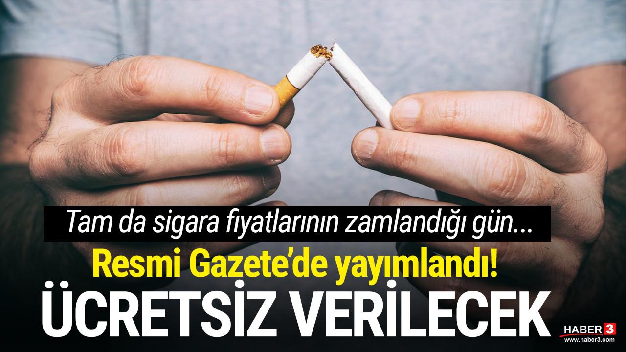 Resmi Gazete'de yayımlandı! O ilaç ücretsiz verilecek