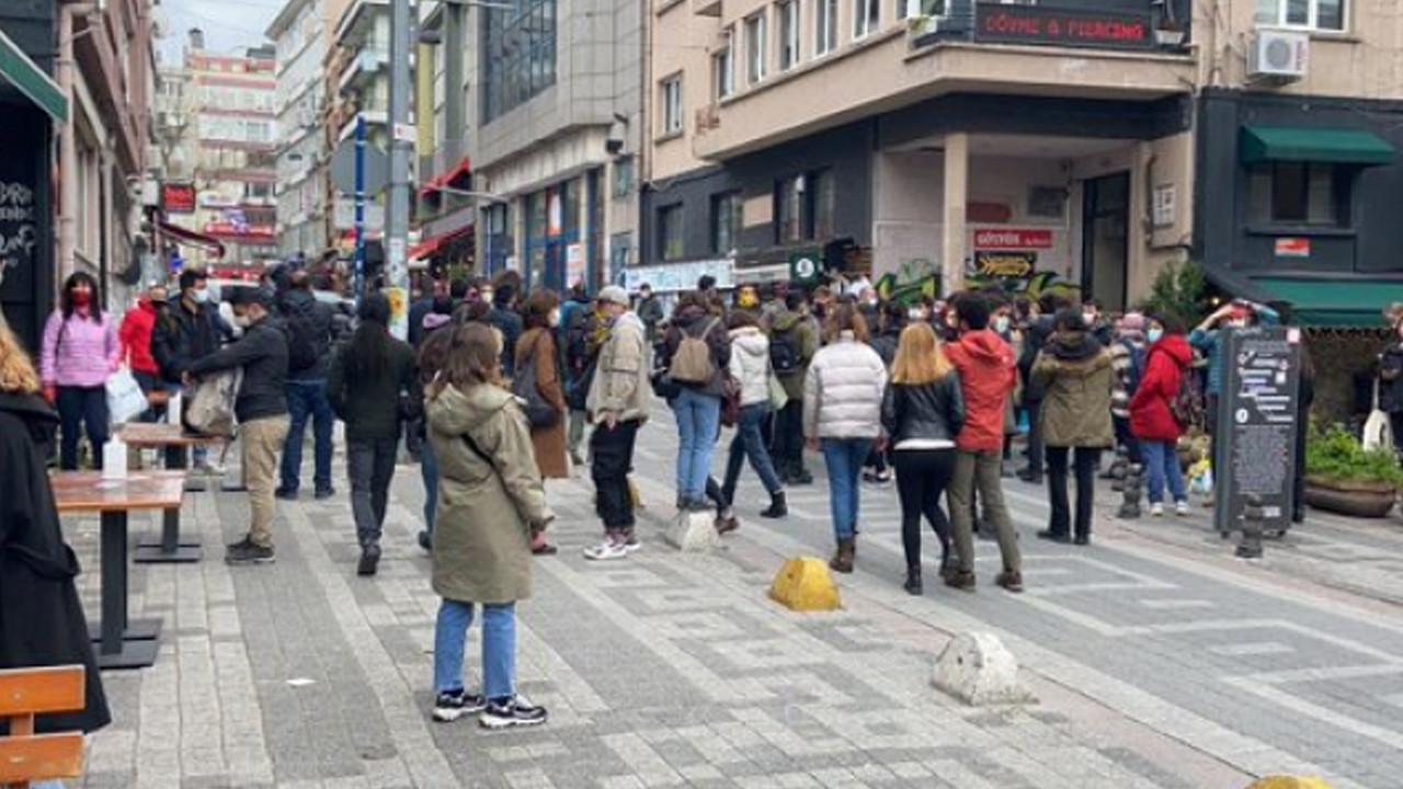 Kadıköy'deki Boğaziçi eylemine polis müdahalesi