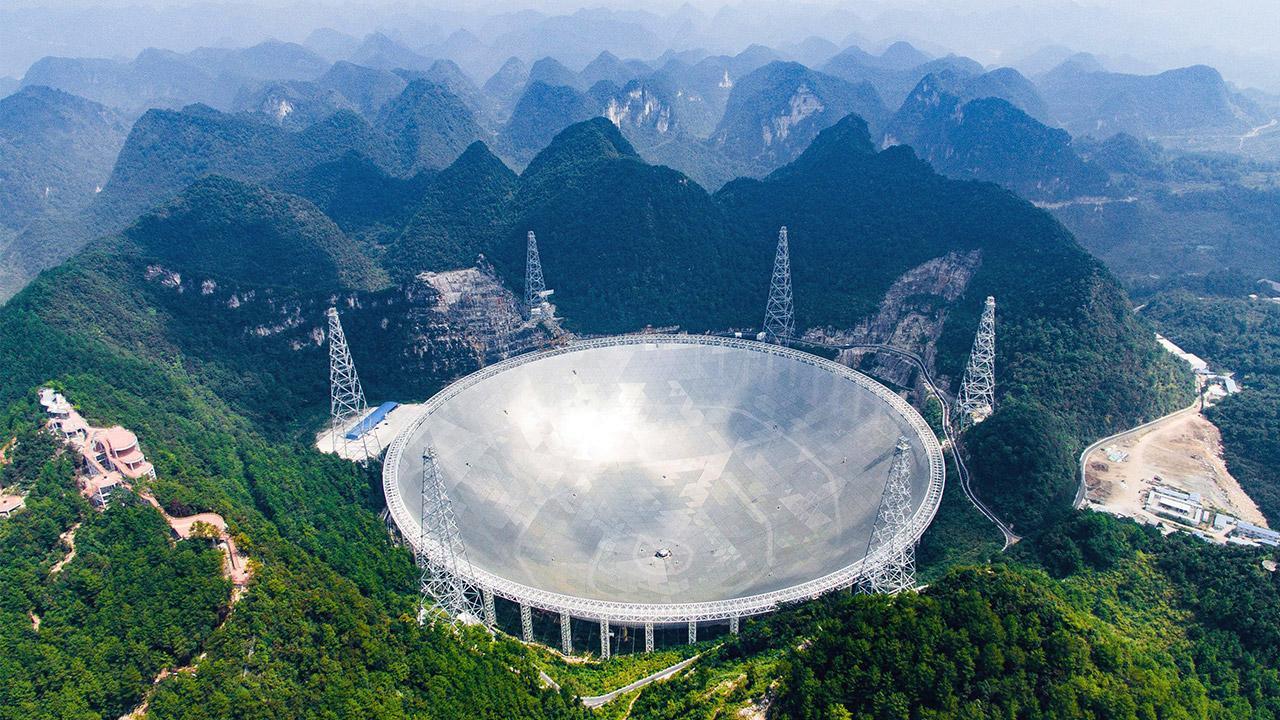 Çin devasa teleskobunu kullanıma açtI
