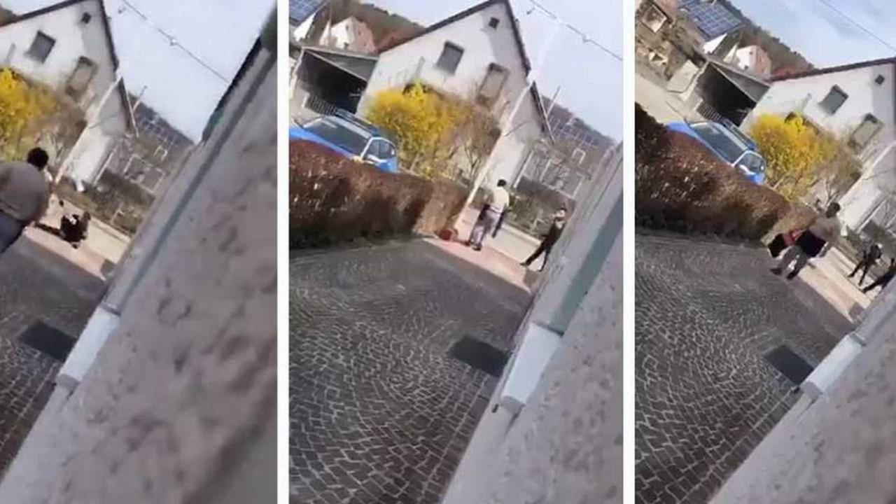 Alman polisi yaşlı Türk kadına sokak ortasında kurşun yağdırdı!