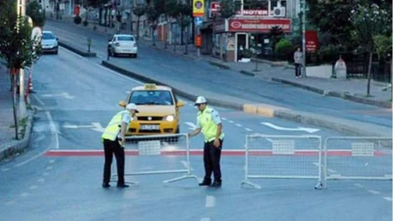 İstanbul'da sokağa çıkma yasağında bu yollar kapatılacak!