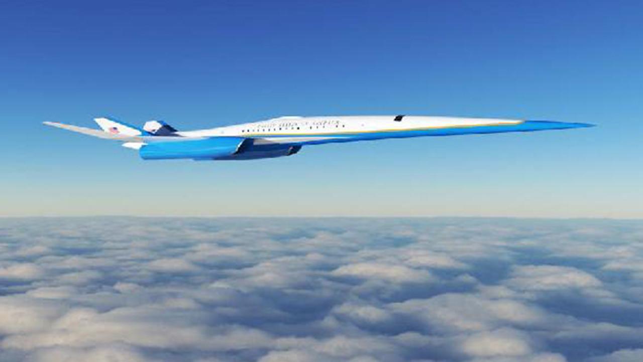 İşte ABD Başkanı'nın yeni uçan sarayı!