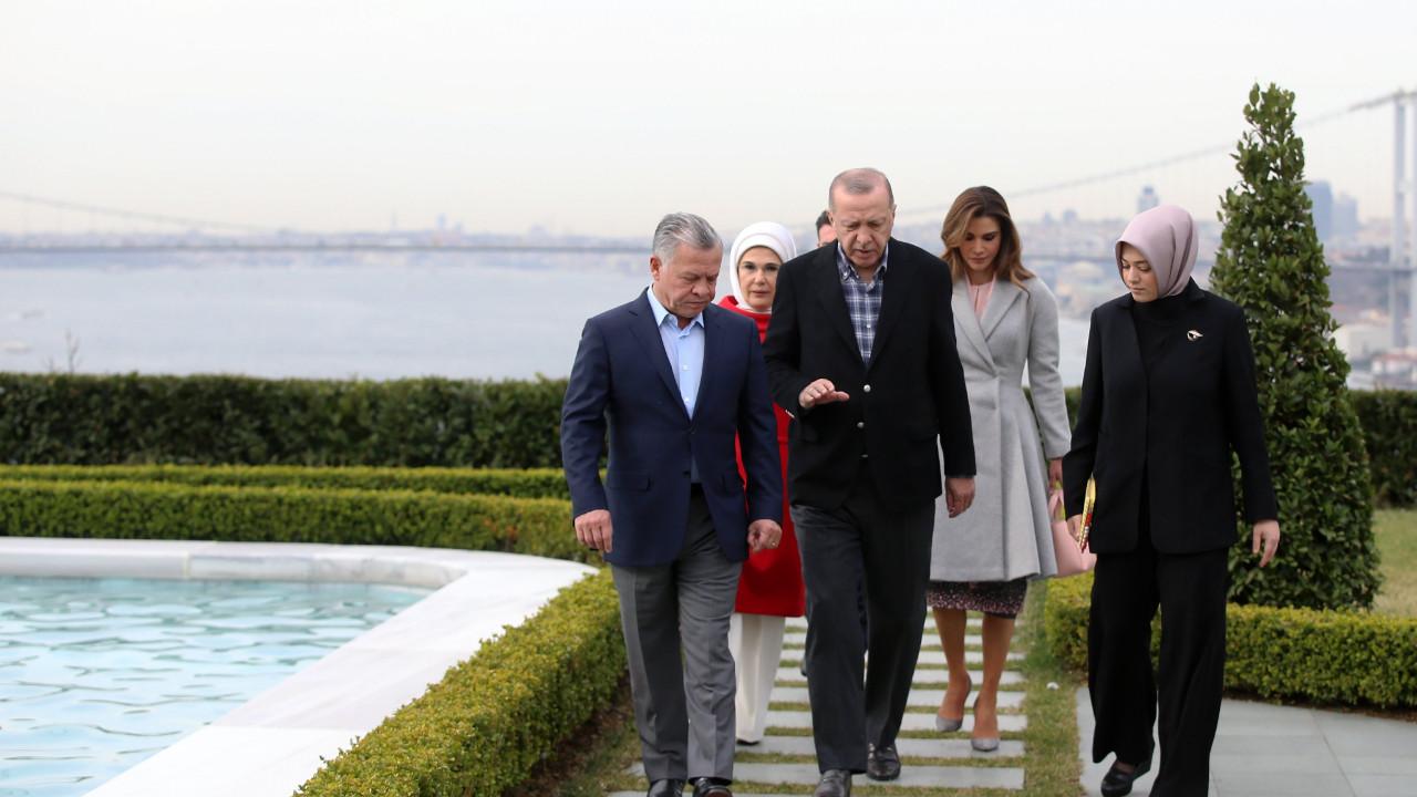 Erdoğan, Ürdün Kralı 2. Abdullah ile görüştü