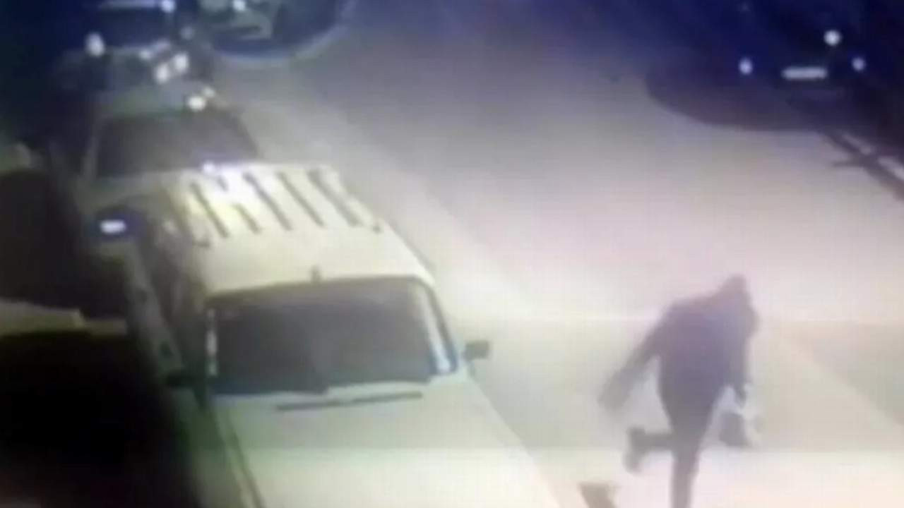 Motosikletteki ''sipariş'' hırsızlığı kamerada