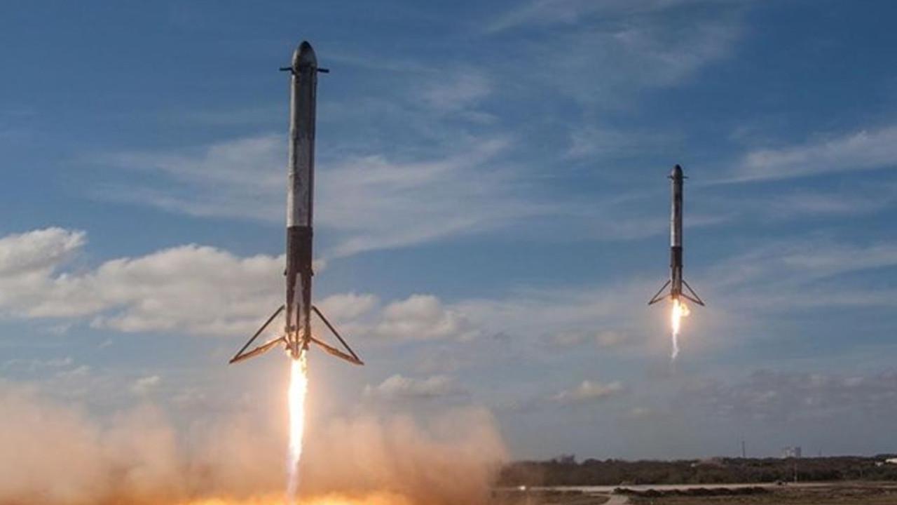 SpaceX roketinin parçaları Washington'a düştü