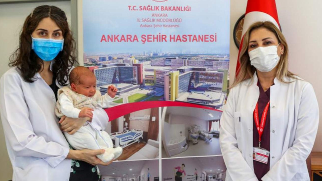 Türkiye'de bir ilk! Antikorlu bir bebek doğdu!