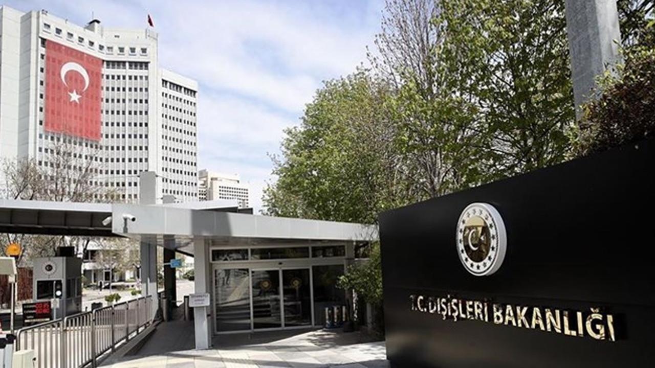 Çin Büyükelçisi Dışişleri Bakanlığı'na çağrıldı