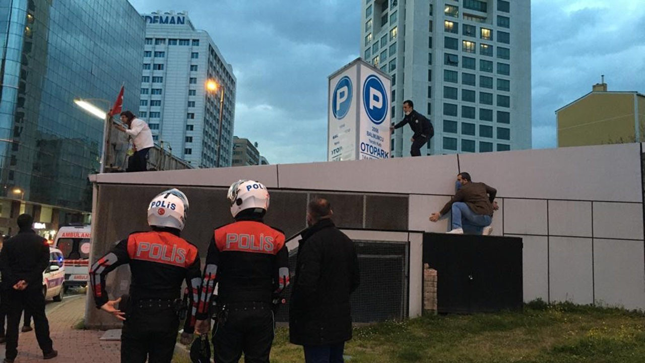 İstanbul'da yine bir intihar girişimi