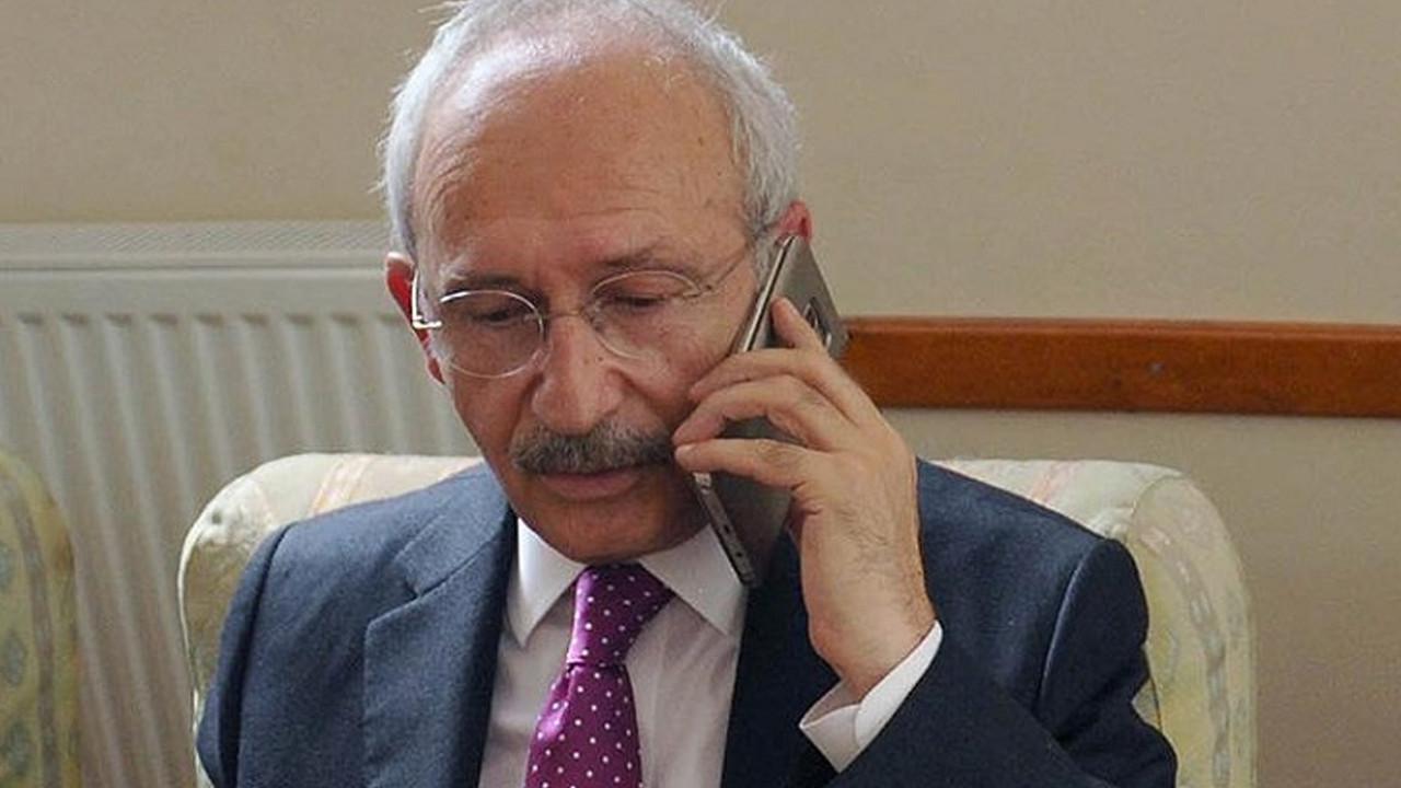 Kılıçdaroğlu'dan Ali Koç'a geçmiş olsun telefnu