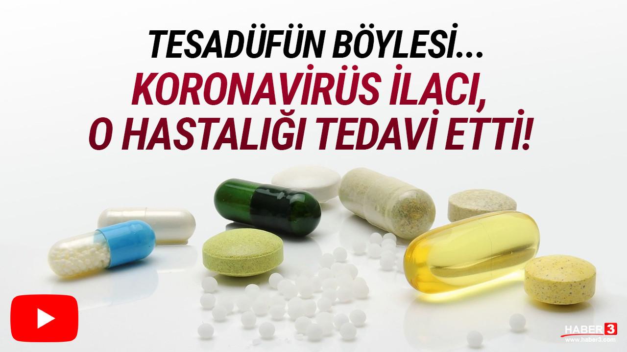 Koronavirüs ilacı, o hastalığın tedavisinde sonuç verdi