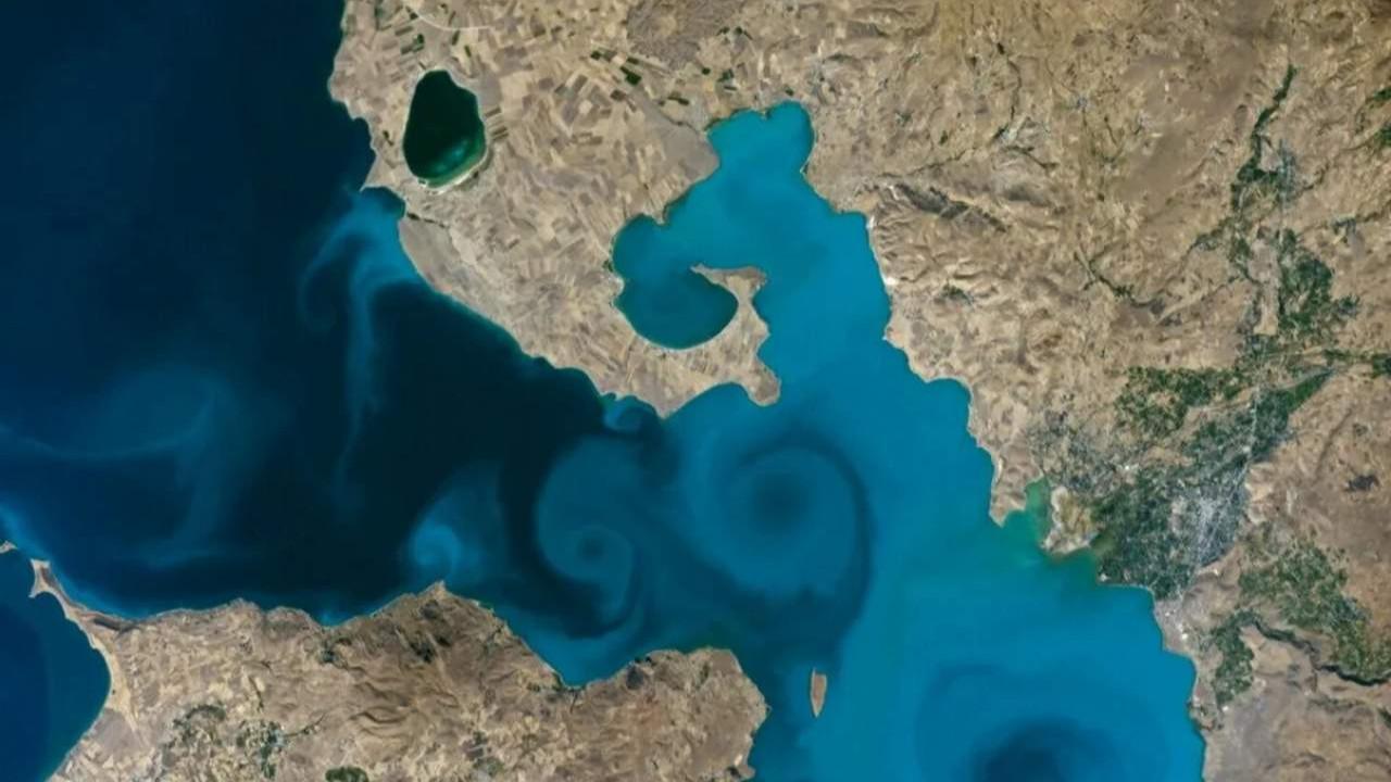 NASA'nın Van Gölü fotoğrafı finalde