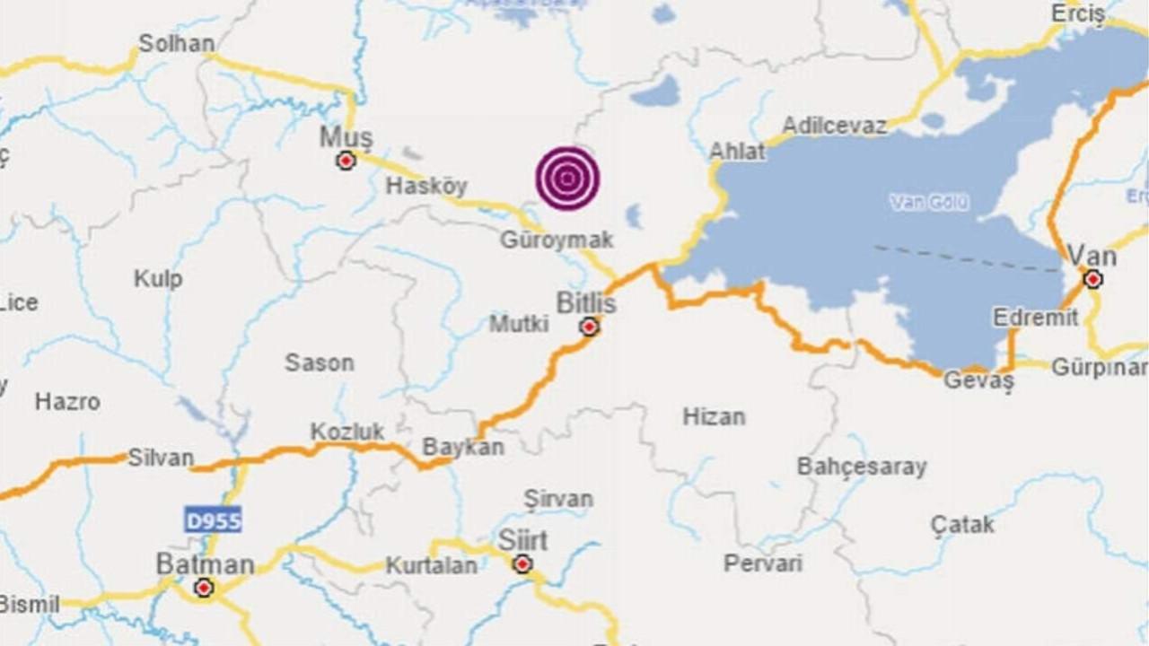 Bir deprem daha! Bu sefer Doğu Anadolu sallandı!