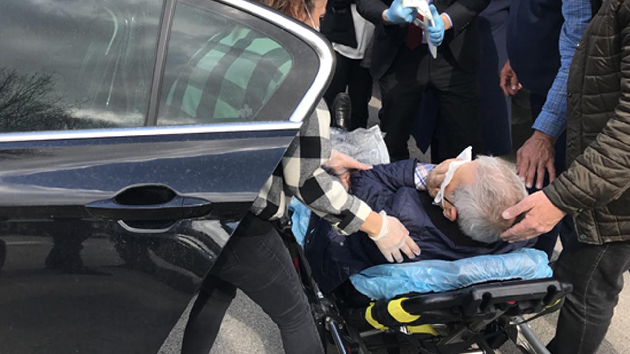 İYİ Partili Yılmaz ve eşi kaza geçirdi