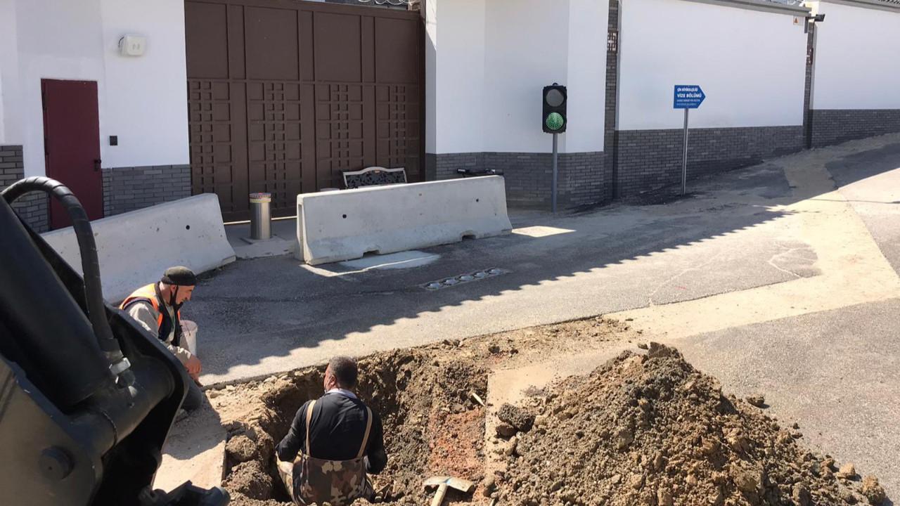 Mansur Yavaş'tan Çin Büyükelçiliği önünde 'kayıp-kaçak' kazısı
