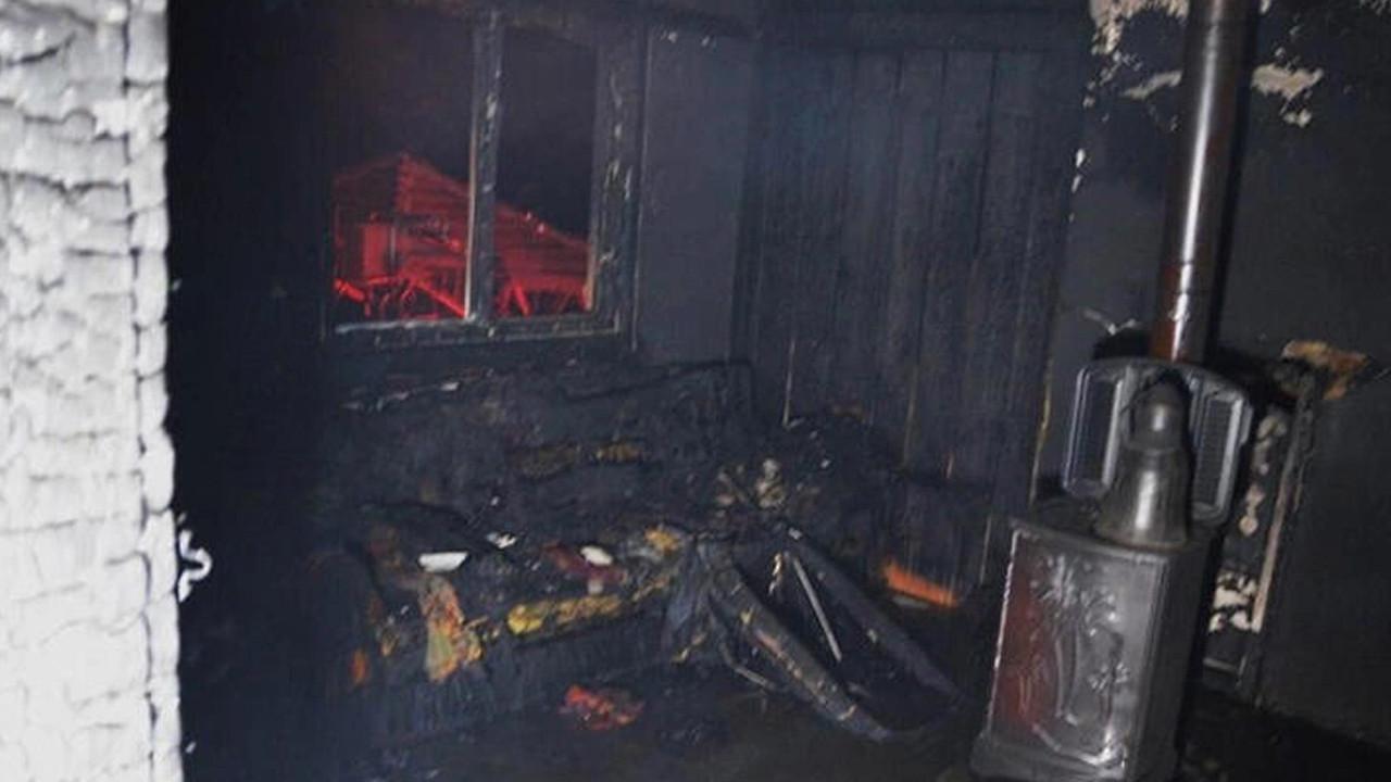 Kütahya'daki yangında 83 yaşındaki kadın hayatını kaybetti