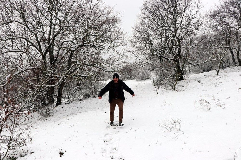 Trakya'da Nisan ayında 10 santimetre kar! - Resim: 2