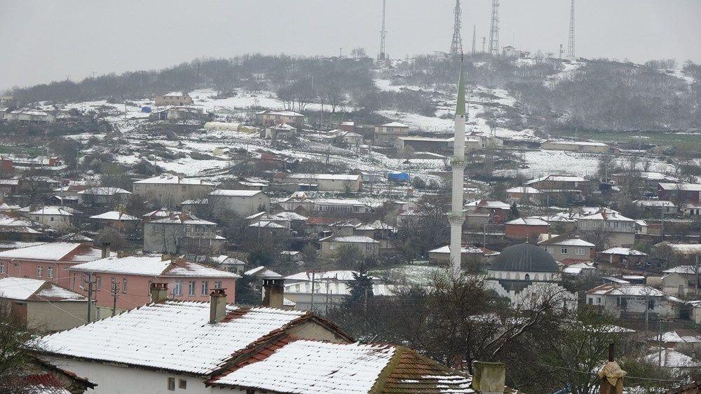Trakya'da Nisan ayında 10 santimetre kar! - Resim: 3