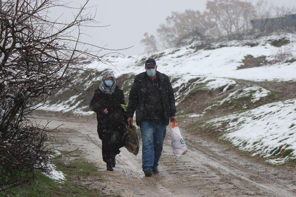 Trakya'da Nisan ayında 10 santimetre kar! - Resim: 4