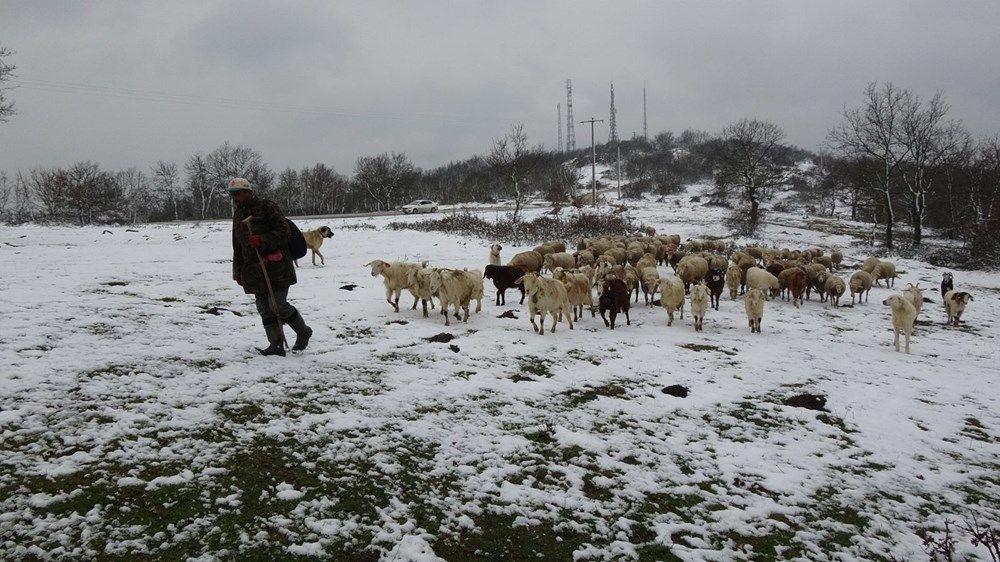 Trakya'da Nisan ayında 10 santimetre kar! - Resim: 1