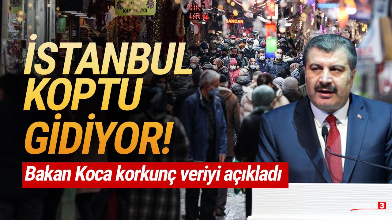 Bakan Koca açıkladı: ''Vakaların yüzde 40'ı İstanbul'da''