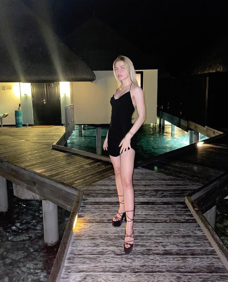 Aleyna Tilki'den ''Maldivler'' pozu! - Resim: 2