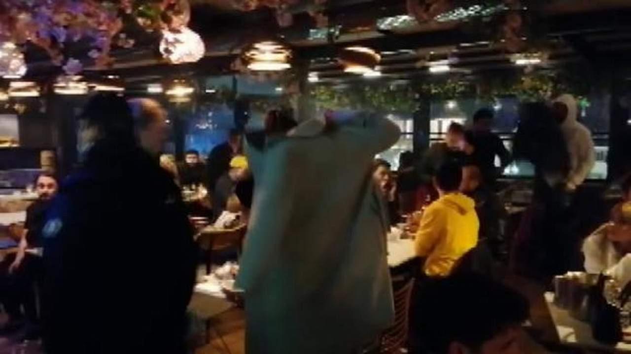 İstanbul'da kaçak partiye polis baskını