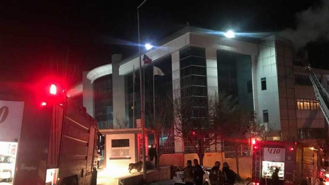 İstanbul'da tekstil fabrikasında yangın
