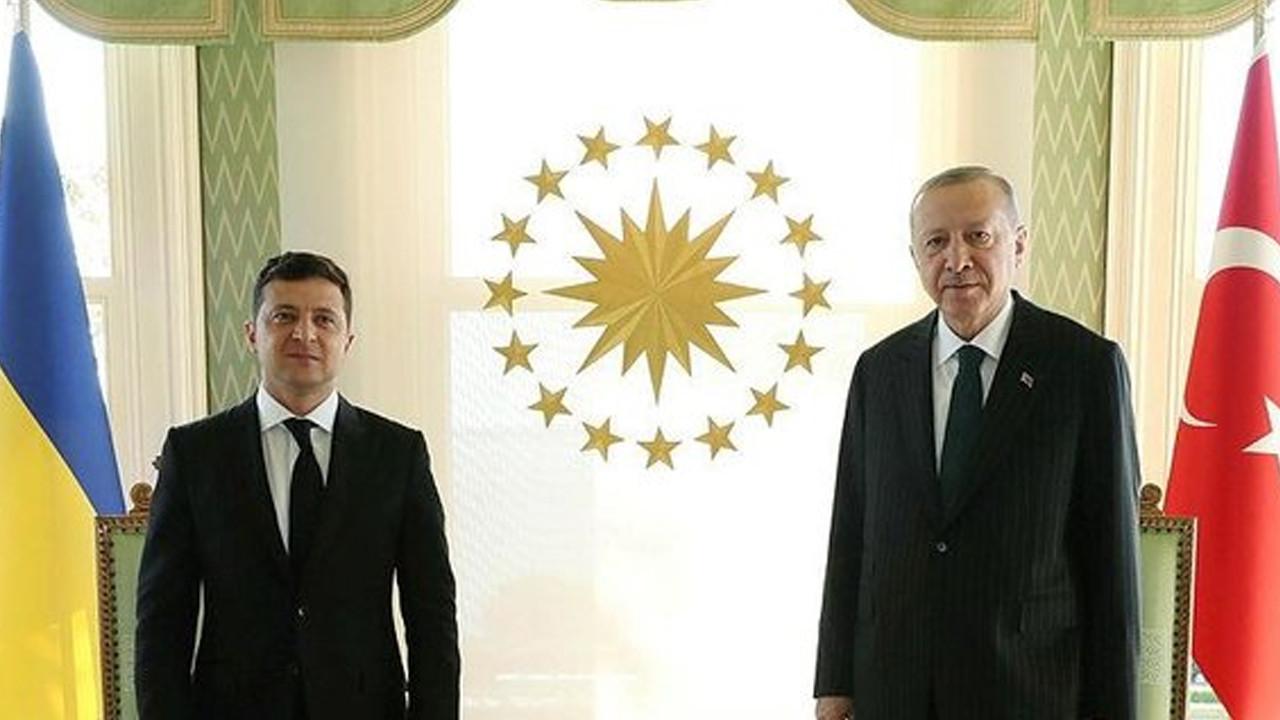 Erdoğan-Zelenskiy görüşmesi başladı