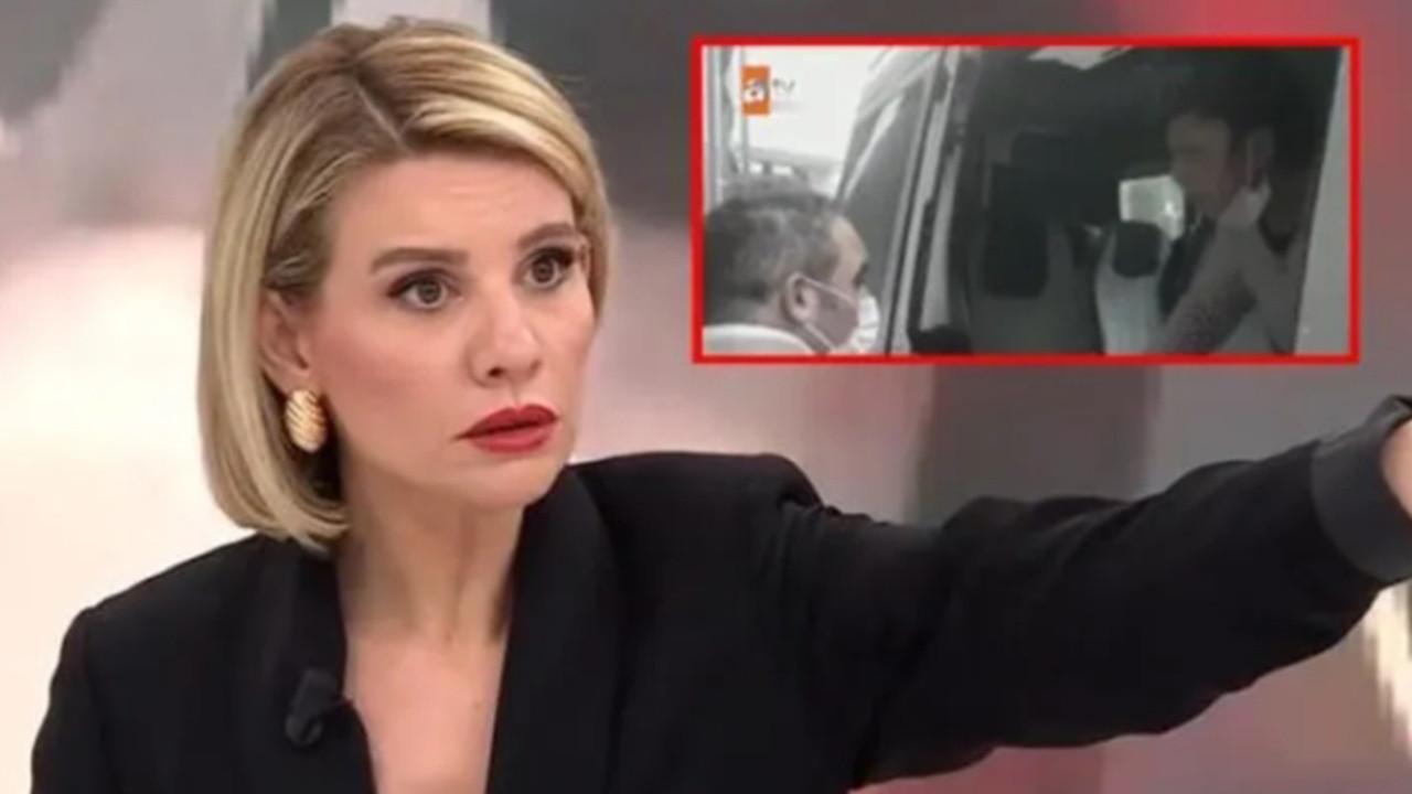 ''Karım beni dövüyor'' diyen adama kameralar önünde şiddet!