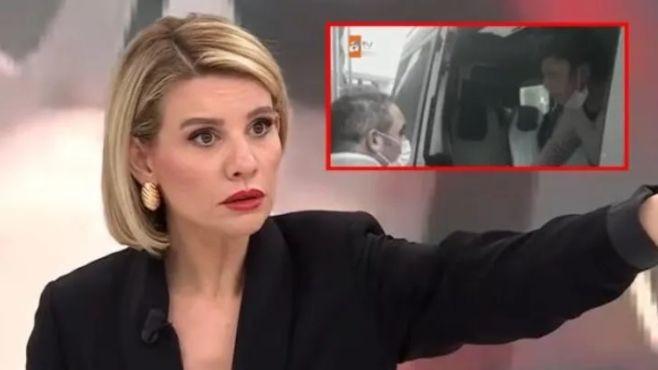 ''Karım beni dövüyor'' diyen adama kameralar önünde şiddet! - Resim: 1