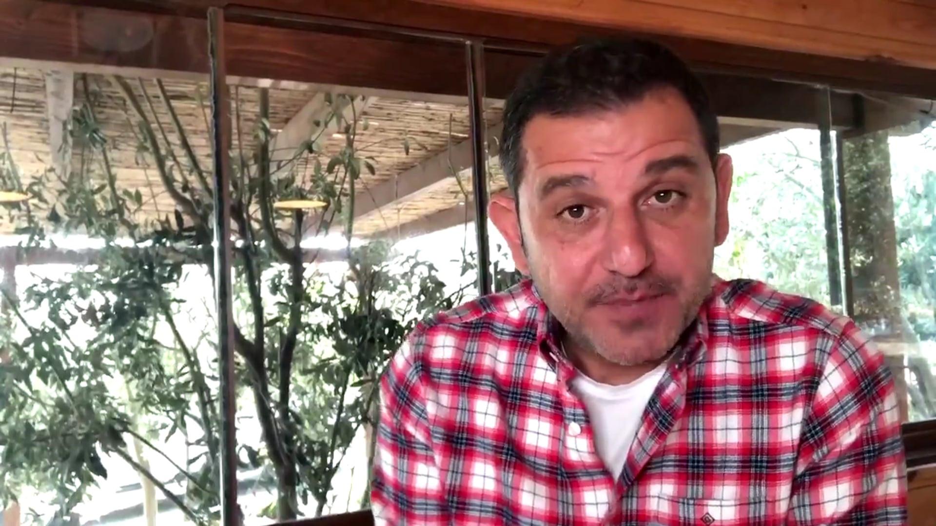 Fatih Portakal'dan AK Parti'ye: ''Yolum sizin yolunuz...''